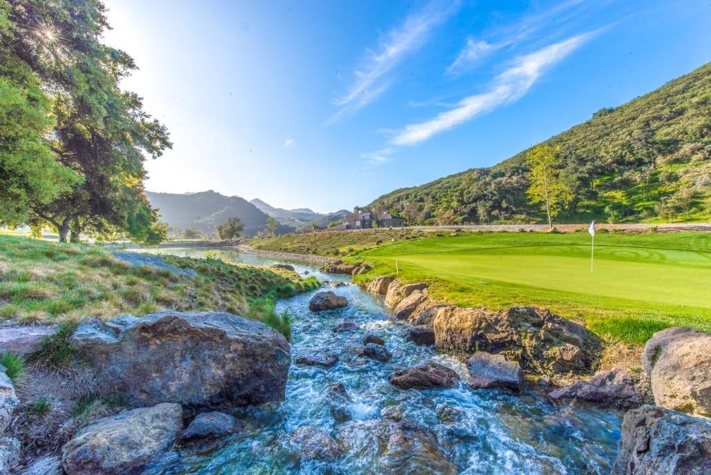 Sherwood Lake Club Golf Course, Hole 5