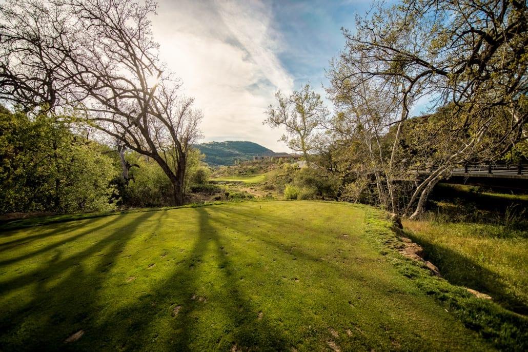 Hole 1, Sherwood Lake Club Golf Course