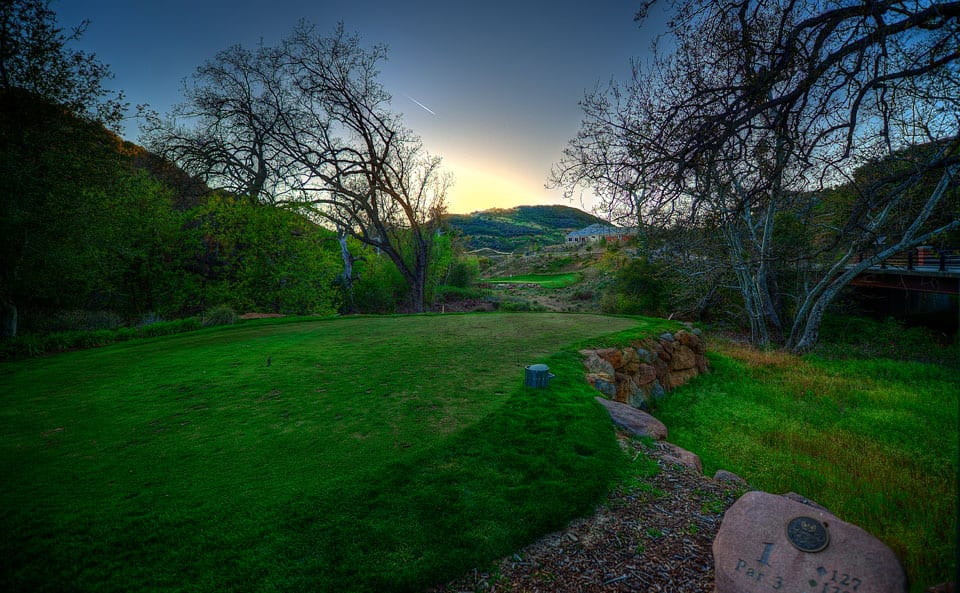 Sherwood Lake Club Golf Course, Hole 1
