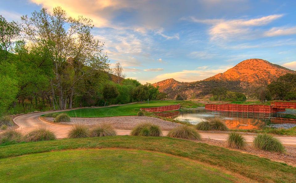 Sherwood Lake Club Golf Course, Hole 13