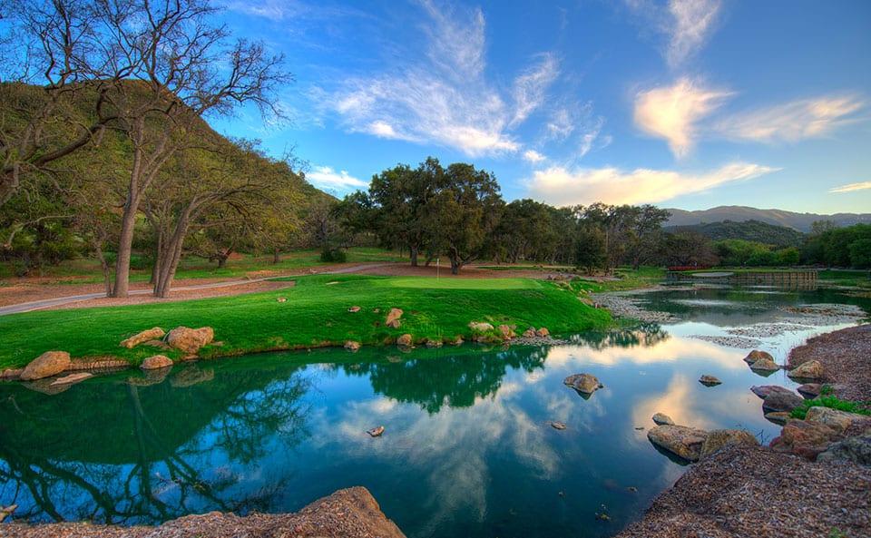 Sherwood Lake Club Golf Course, Hole 14