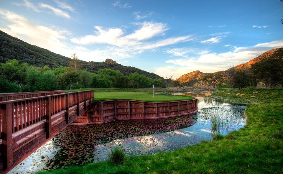 Sherwood Lake Club Golf Course, Hole 15
