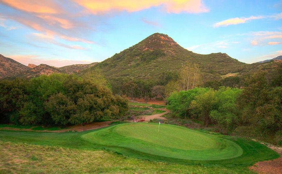 Sherwood Lake Club Golf Course, Hole 17