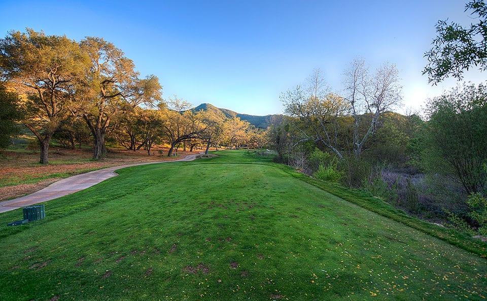 Sherwood Lake Club Golf Course, Hole 18