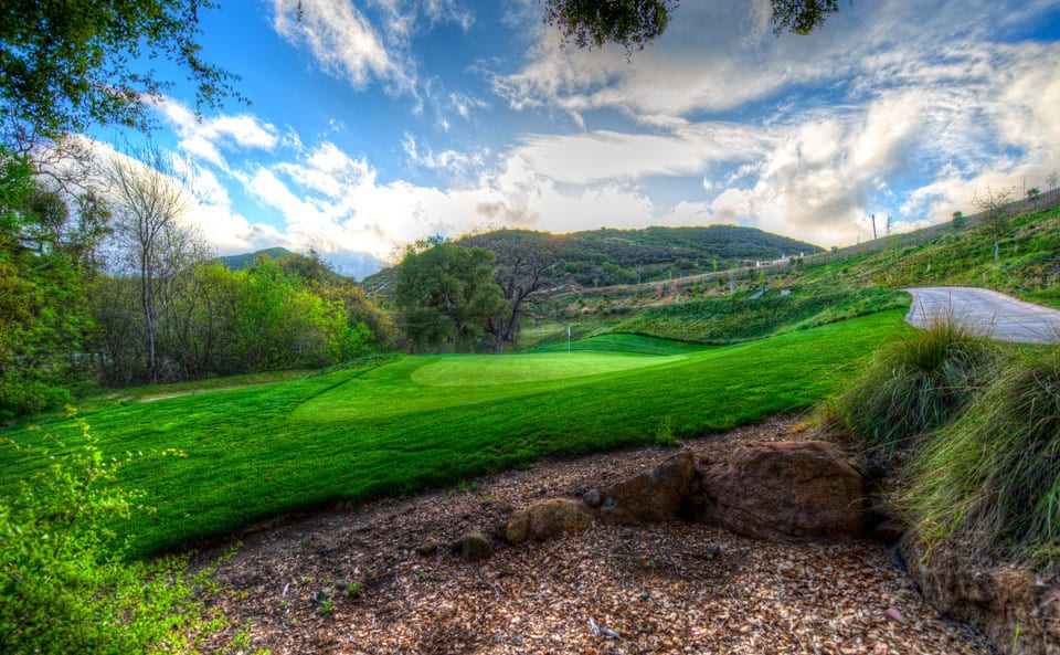 Sherwood Lake Club Golf Course, Hole 2