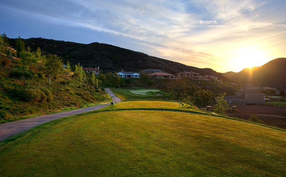 Sherwood Lake Club Golf Course, Hole 8