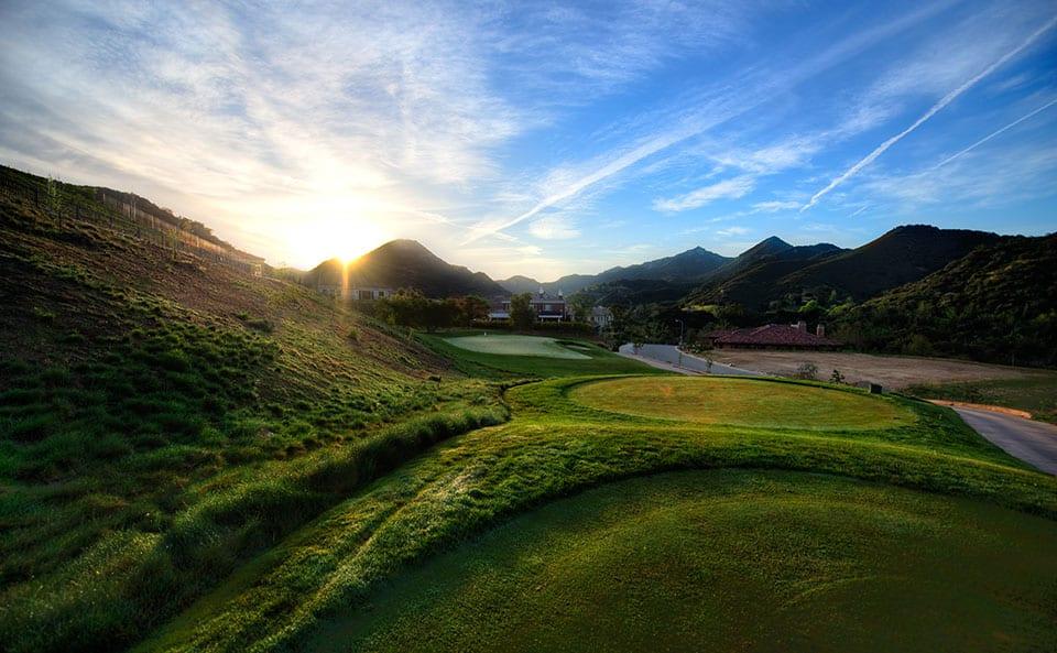 Sherwood Lake Club Golf Course, Hole 9