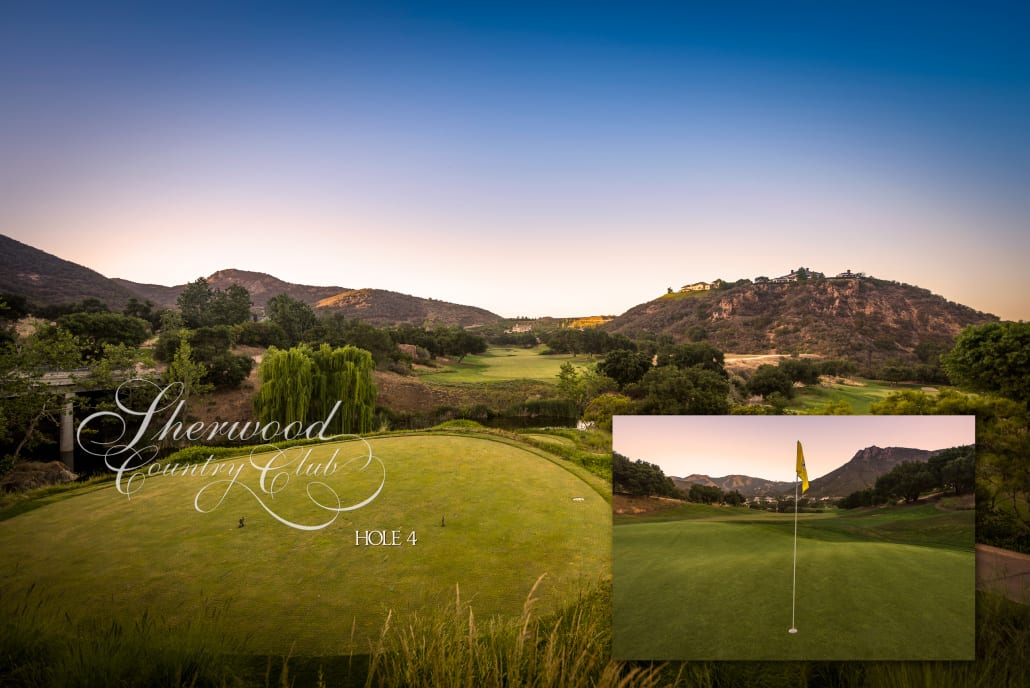 Sherwood Country Club Golf Course, Hole 4