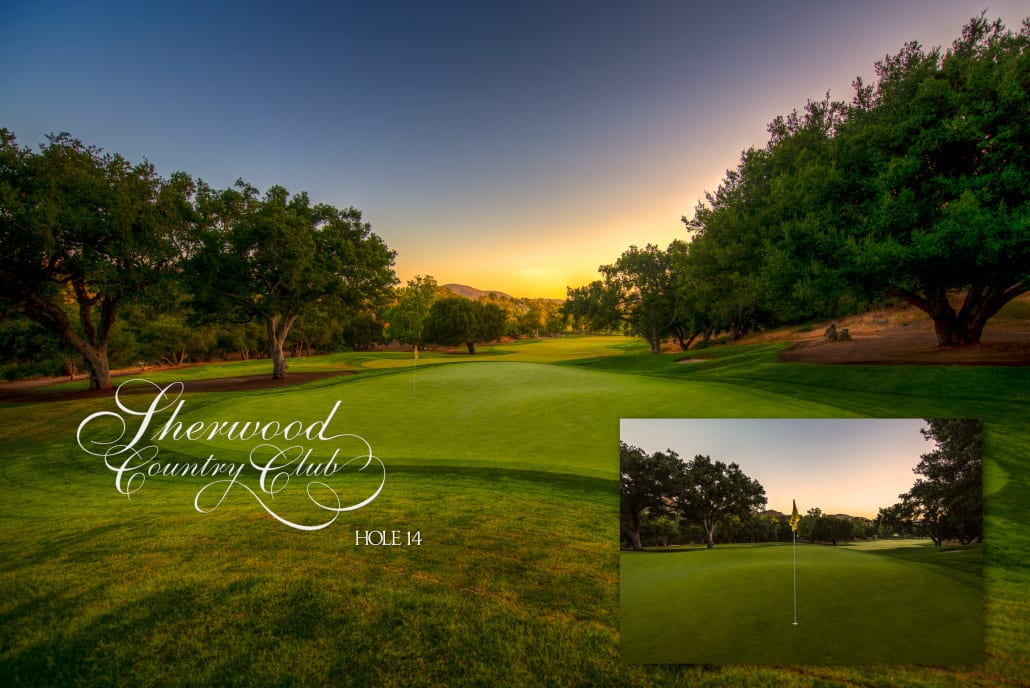 Sherwood Country Club Golf Course, Hole 14