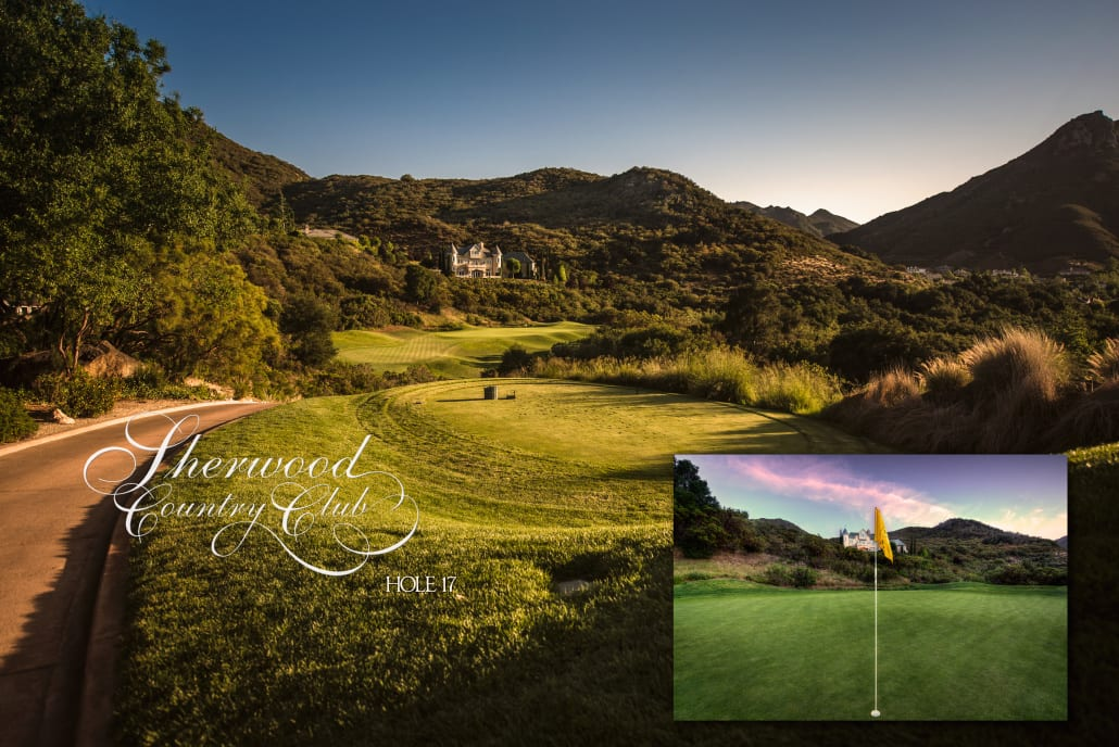 Sherwood Country Club Golf Course, Hole 17