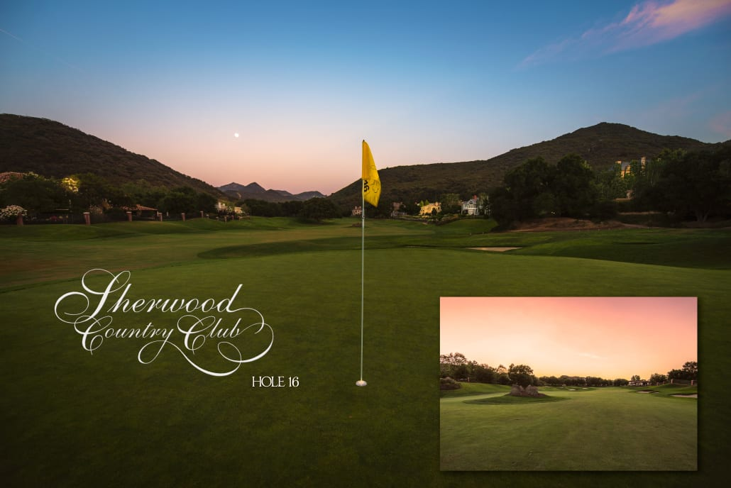 Sherwood Country Club Golf Course, Hole 16