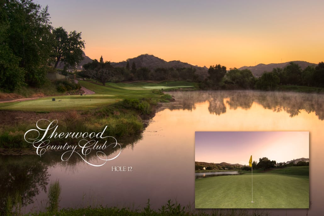 Sherwood Country Club Golf Course, Hole 12