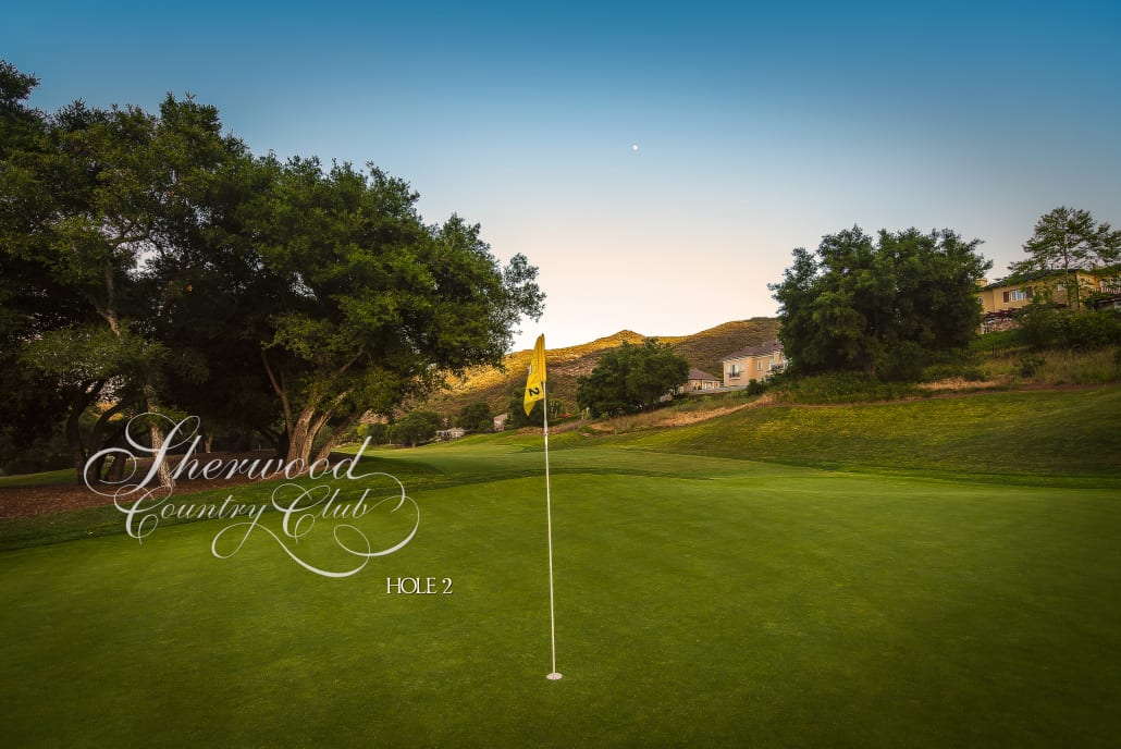 Sherwood Country Club Golf Course, Hole 2
